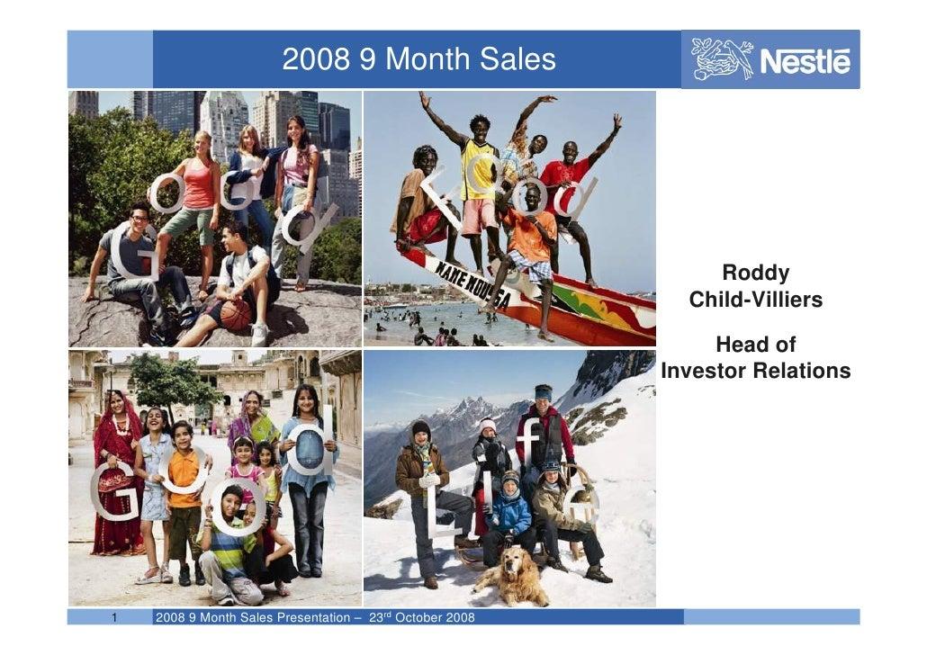 2008 9 Month Sales                                                                    Roddy                               ...