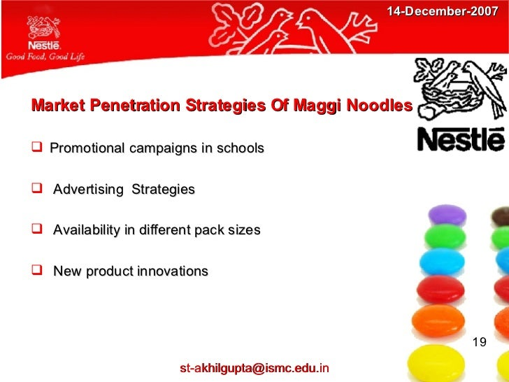 maggi noodles porter s five forces model Porter's five forces for nestle submitted by: nimisha walecha (e13) sonam mahajan (e21) raqueem khan (e62) about nestlé • founded in 1866 by henri nestlé.