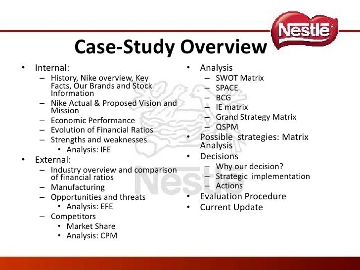 nestle tows matrix Read this essay on nestle australia of the strategic options available with the company by executing tows matrix nestle is one of the oldest food.