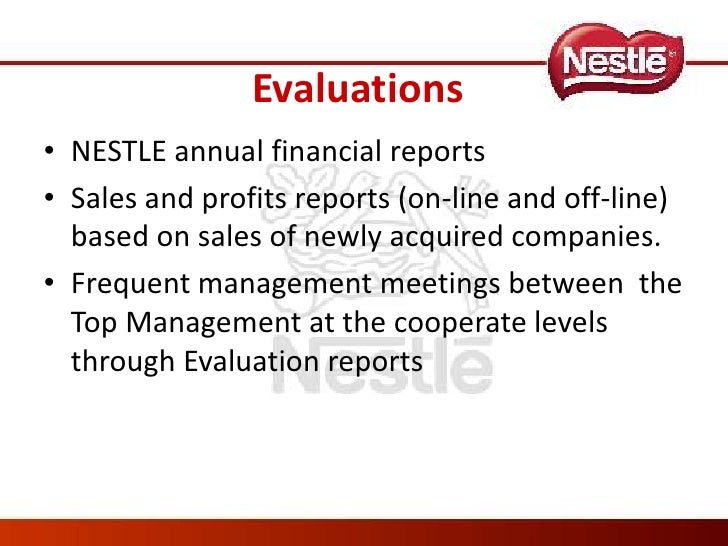 a critical evaluation of nestle Performance appraisal: a critical review abstract: performance evaluation of nestle meaning and concept of the 360 degree performance appraisal process 2.