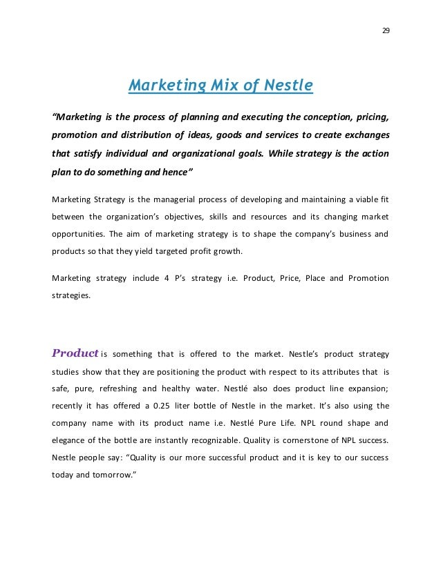 marketing planning strategy nestle Nestle strategic plan -refocus the strategy-how does nestle maintain industry leader role 1 enrich lives of customers 2 excellence in operations 3.