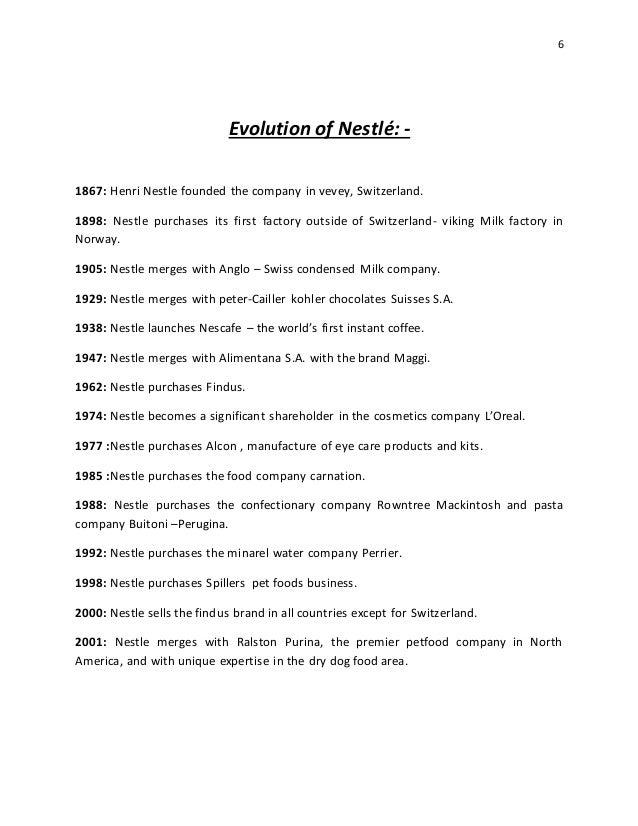 history of nestle india