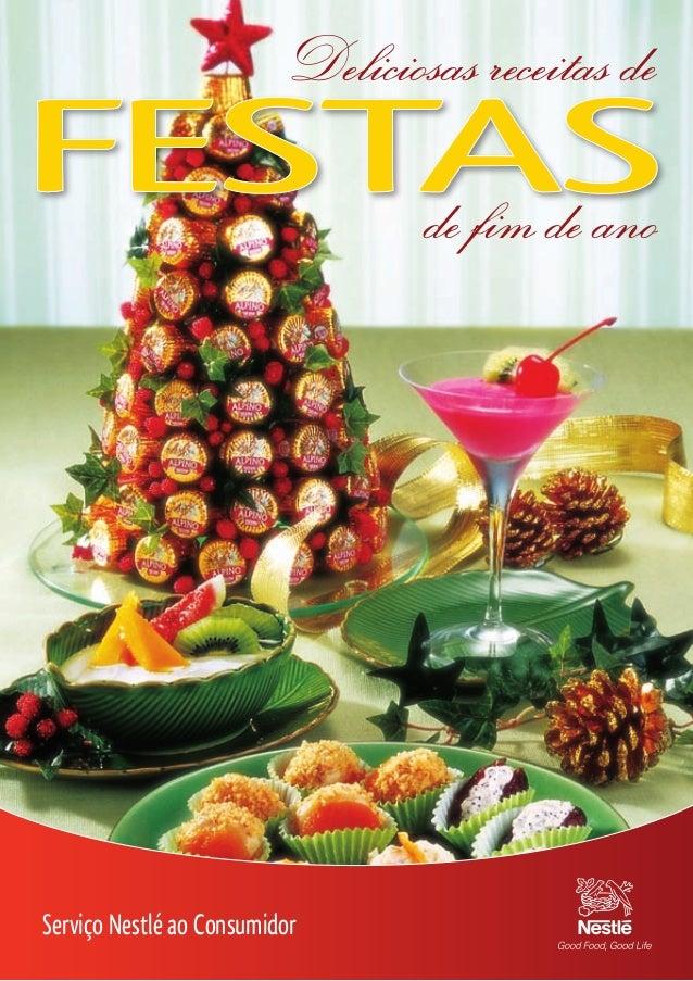 Deliciosas receitas de de fim de ano  Serviço Nestlé ao Consumidor 17