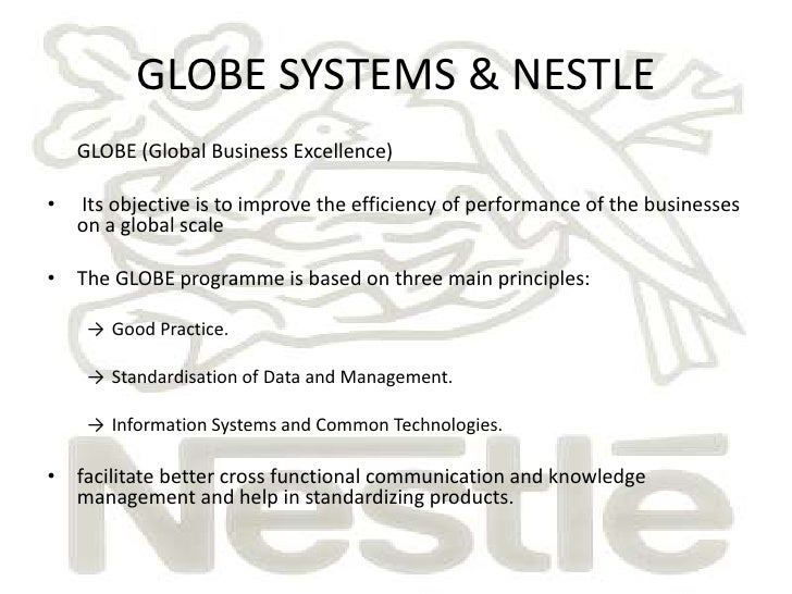 knowledge management in nestle It comes as no surprise that nestlé's interest in closely managing the supply   connected in the business, with high credibility, experience and knowledge is key.