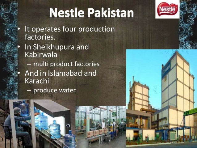 nestle pakistan limited View nestle's annual report from year 2005 to the the latest.