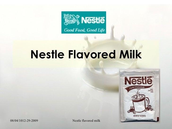 Nestle Coursework