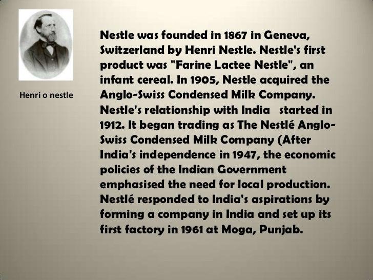 nestle corporation 2