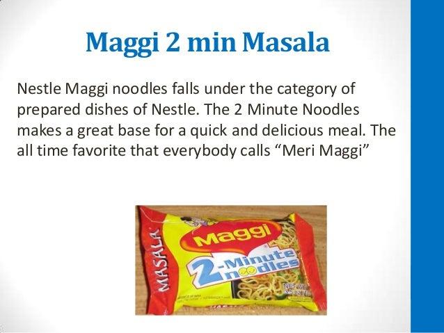Nestle sales promotion india