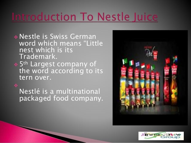 Nestle juices (demand for nestle juices) by shakeel ahmed