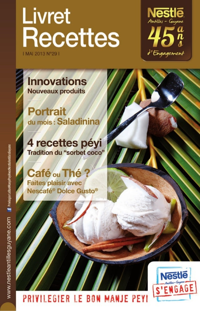 Nestle Livret Recettes N°29 Mai 2013