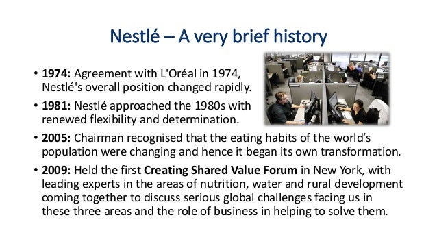 report on training and development of nestle company The performance of the nestle company business essay print reference this  disclaimer:  (nestle report, nd) hr practices in nestle  quality, and other goals in line with the mission and vision of the company staffing, training, compensation and performance management are fundamentally central tools in the human resources practices.