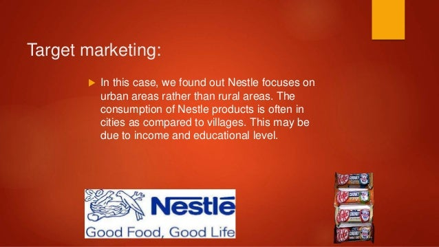 Marketing Mix Of Nestle Company