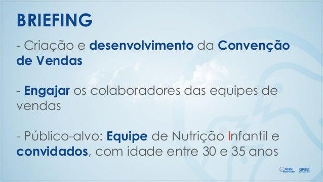 Convenção de Vendas Nestlé Nutrition 2015 Slide 3