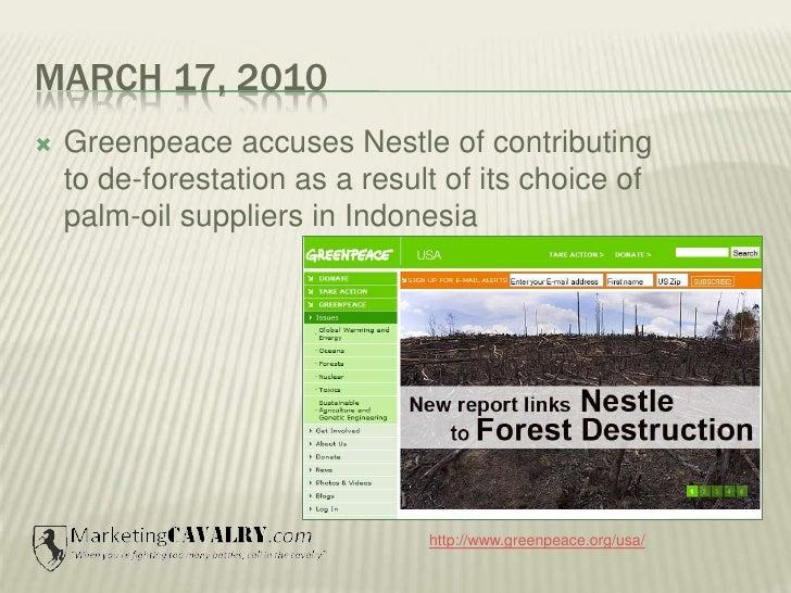 Nestle's Social Media Disaster 2010 Slide 3