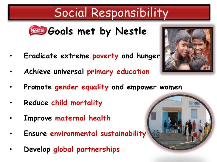 environmental sustainability of nestle essay Essays nestle group nestle won the 27th world environment center (wec) gold medal award for its commitment to environmental sustainability.