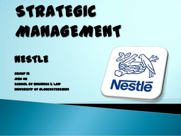 the marketing activities of nestle Innovations for strengthening leading market positions of nestlé brands   alongside with business activities nestlé aims to create shared value.