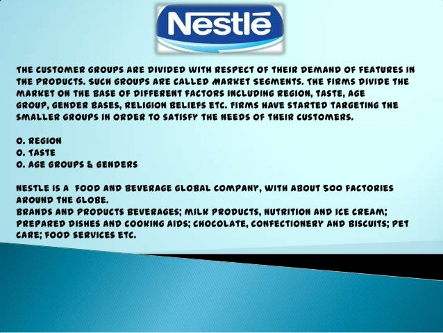 disadvantages of nestle company