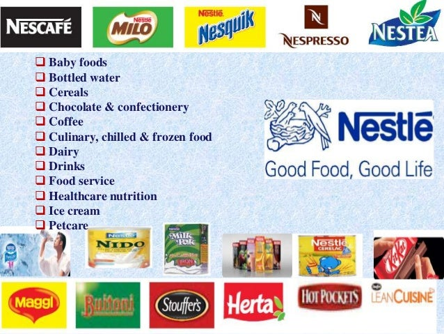 Process of Nestle Coffee and Chocolate