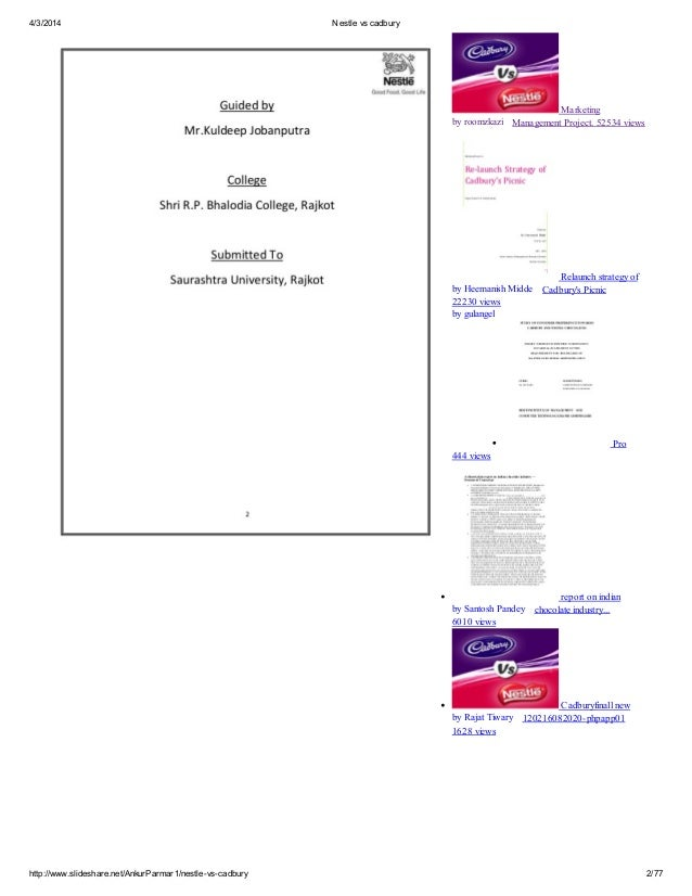 cadbury vs nestle bibliography It took 30 years, but hershey has sued to stop the import of all the british cadbury chocolate, prompting ridicule and hoarding among aficionados.