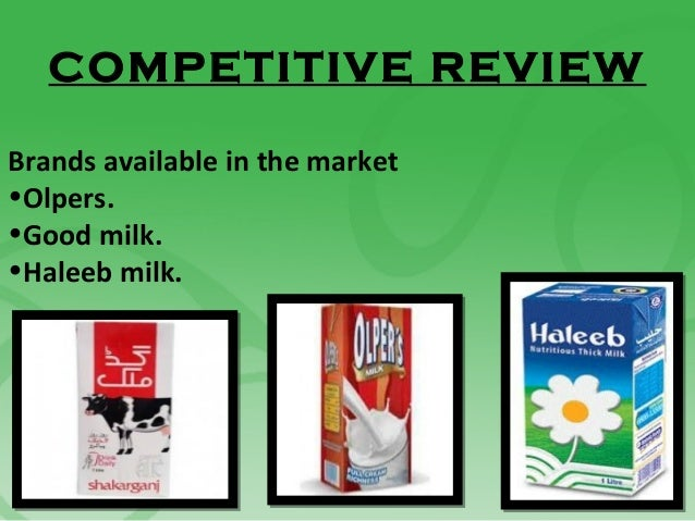 haleeb market share Mimran 44 nimra 48 case study on haleeb food limited: introduction: hfl is now one of the fastest growing packaged food companies in pakistan with an.