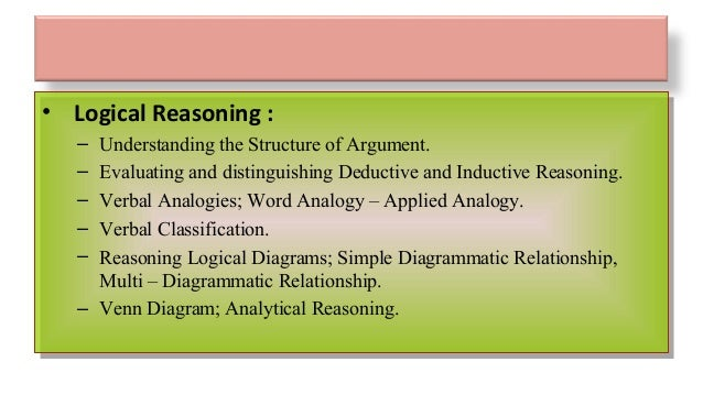 Net 15 logical reasoning ccuart Images