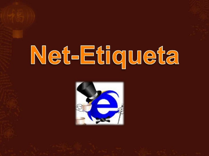 Net-Etiqueta<br />