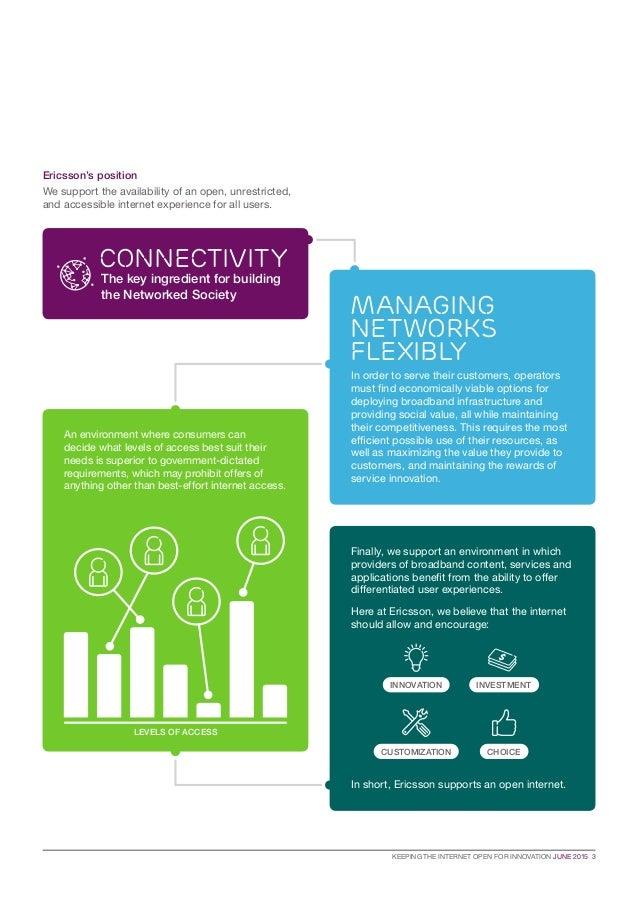Ericsson's perspective on the net neutrality debate Slide 3