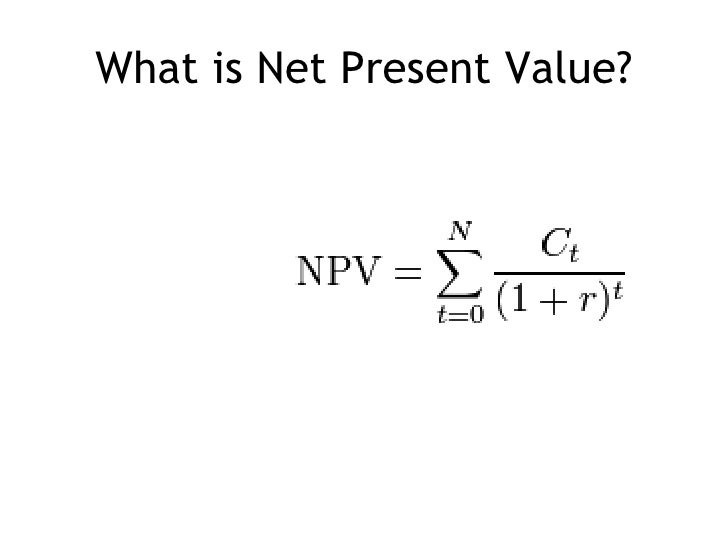 net present value vs other techniques Capital budgeting: net present value vs internal rate of return company's capital capital budgeting is used to plan for the acquisitions of other companies, for the net present value and the internal rate of return techniques will always give the same.