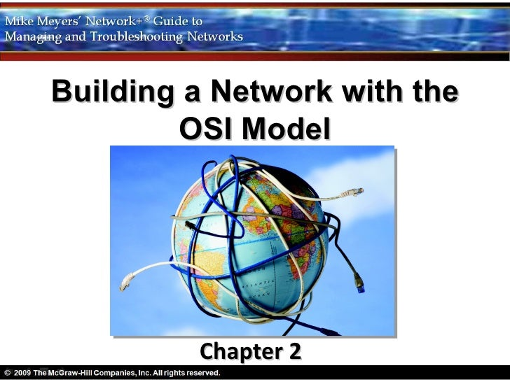 Building a Network with the        OSI Model         Chapter 2