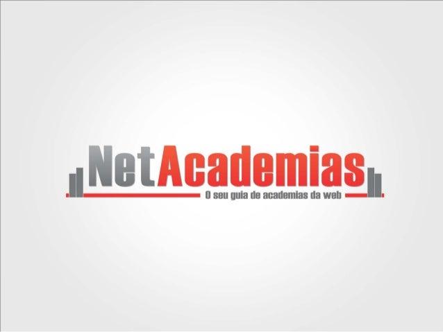 Sobre o PortalO NetAcademias surgiu com o objetivo de ser o melhor e mais completo Guiade Academias do Brasil !E o projeto...