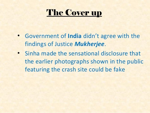 """Probe not given secret files  In 1956, the Shah Nawaz committee refused to consider the document """"Allied secret report No..."""