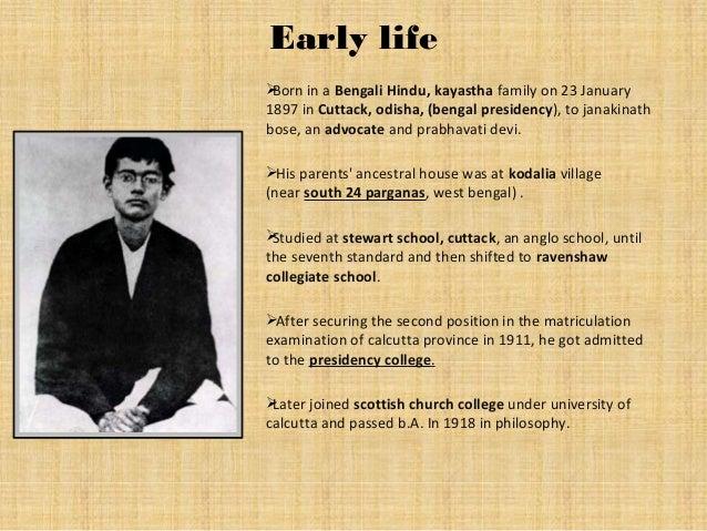 Early life Born in a Bengali Hindu, kayastha family on 23 January 1897 in Cuttack, odisha, (bengal presidency), to janaki...