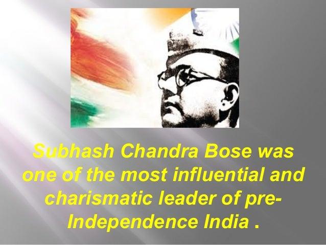 Netaji Subhashchandra Bose Slide 2