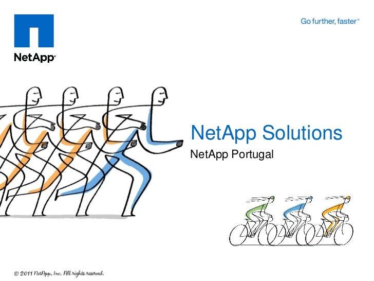 NetApp SolutionsNetApp Portugal