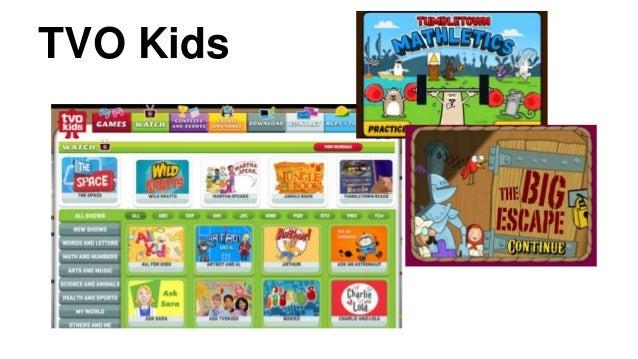 tvo kids games