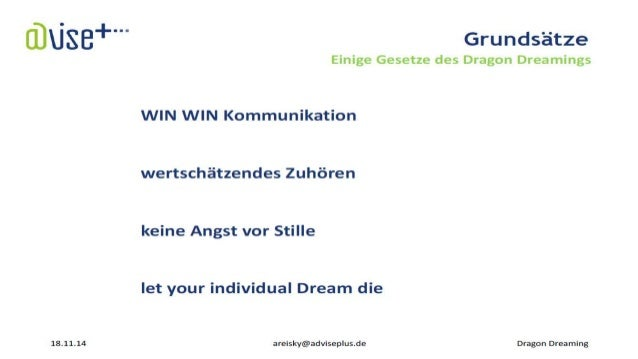 Dragon Dreaming Projekt Design – partizipative Projektmanagement Methode nicht nur für Träumer