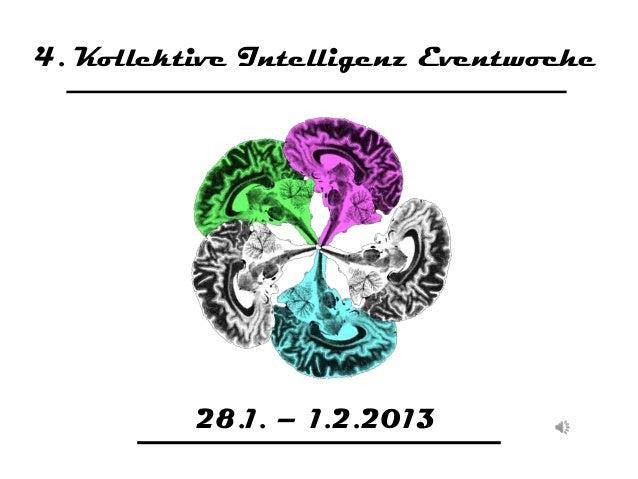 4. Kollektive Intelligenz Eventwoche