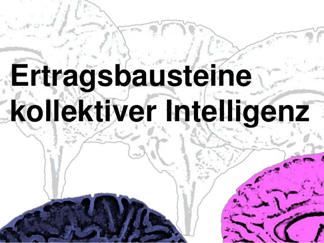 Ertragsbausteinekollektiver Intelligenz
