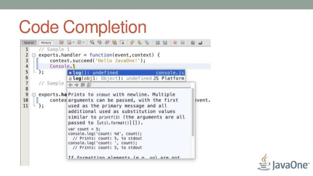 Node js Development with Apache NetBeans