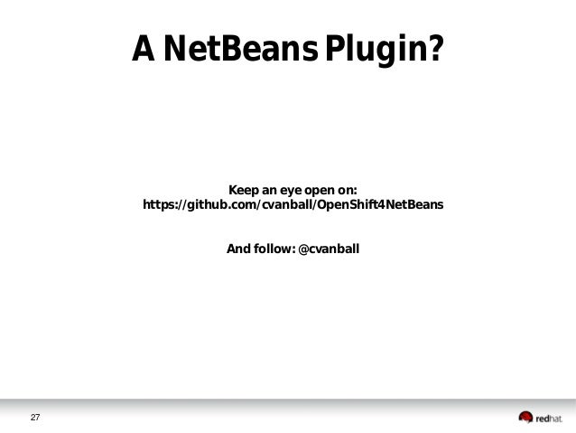 java ee with netbeans on openshift
