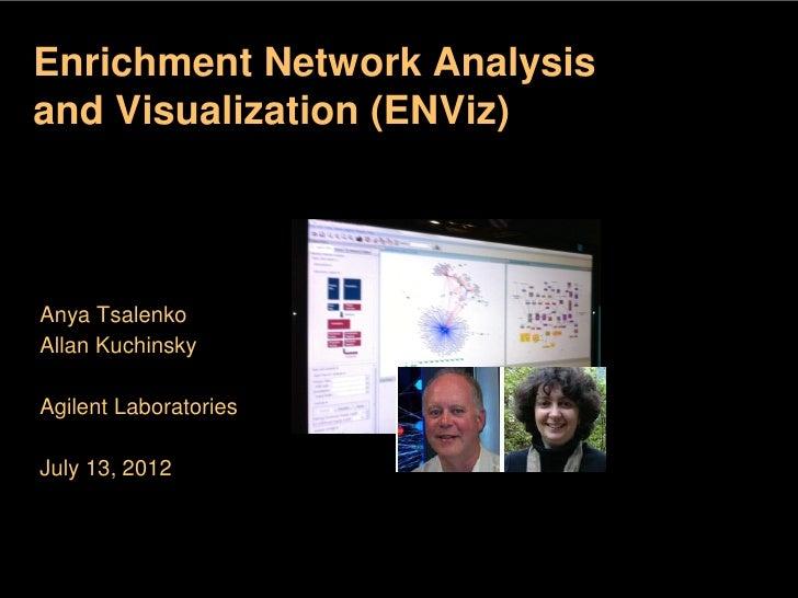 Enrichment Network Analysisand Visualization (ENViz)                 global program that offers                student dev...