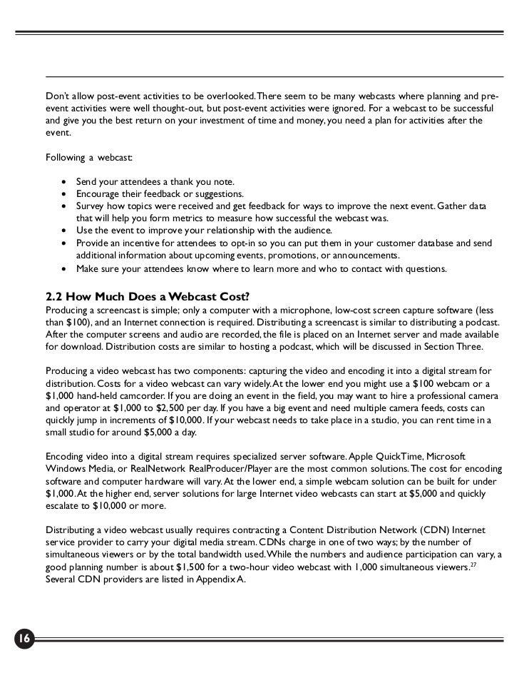 Netcasting – Manual
