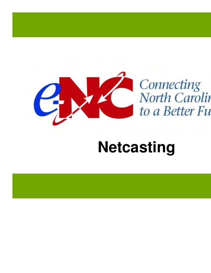 NetcastingManual page: