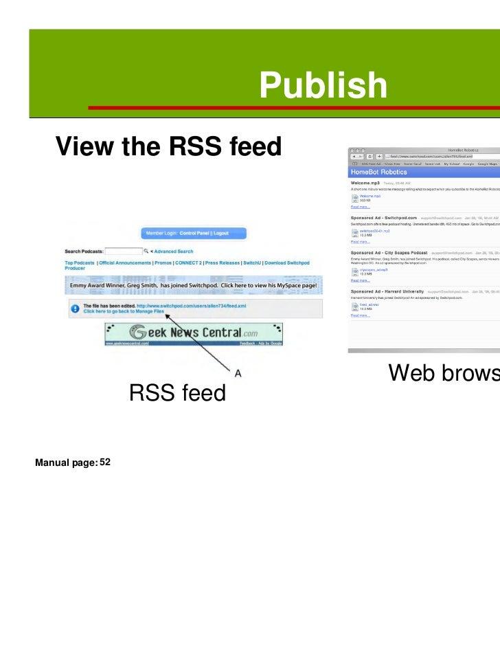 Netcasting – Training slides