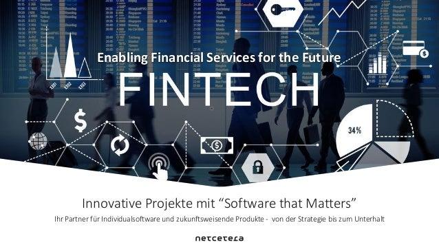 """Innovative Projekte mit """"Software that Matters"""" Ihr Partner für Individualsoftware und zukunftsweisende Produkte - von der..."""