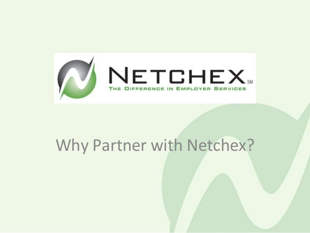 Why Partner with Netchex?