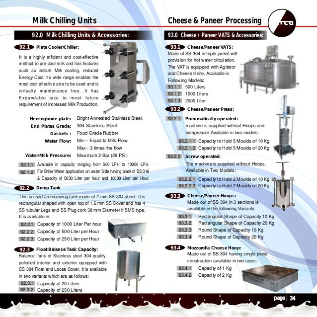 View Online Catalogs Of Dairy Equipments Netco Www