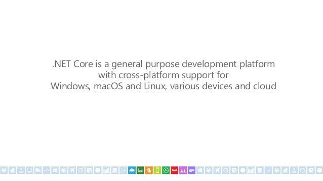 """any platform, any application, any developer"""