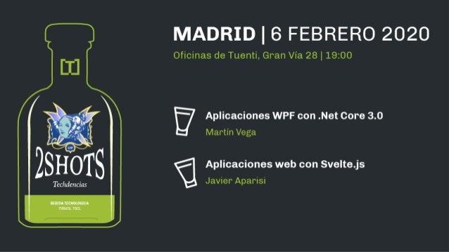 Aplicaciones WPF con .Net Core 3.0 Martín Vega mvega@pasiona.com @mvegaca devwindowsapps.wordpress.com