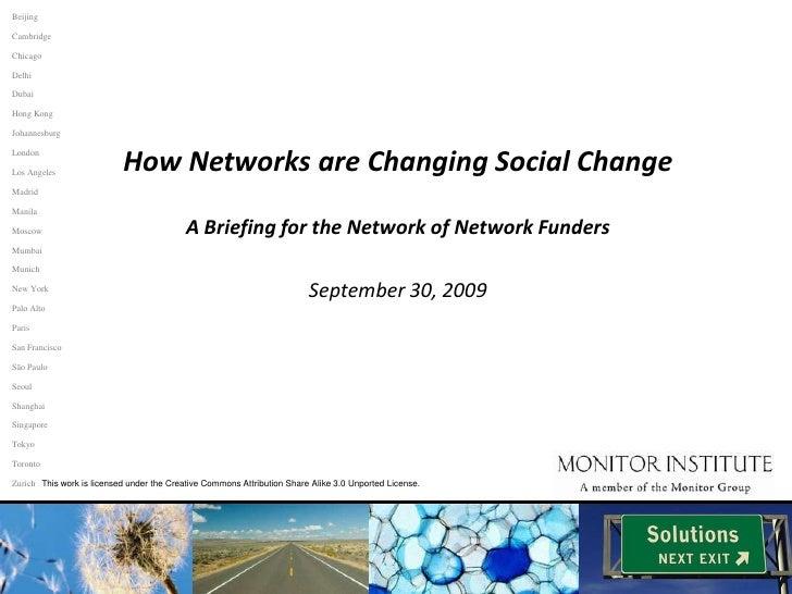 Beijing<br />Cambridge<br />Chicago<br />Delhi<br />Dubai<br />Hong Kong<br />Johannesburg<br />How Networks are Changing ...